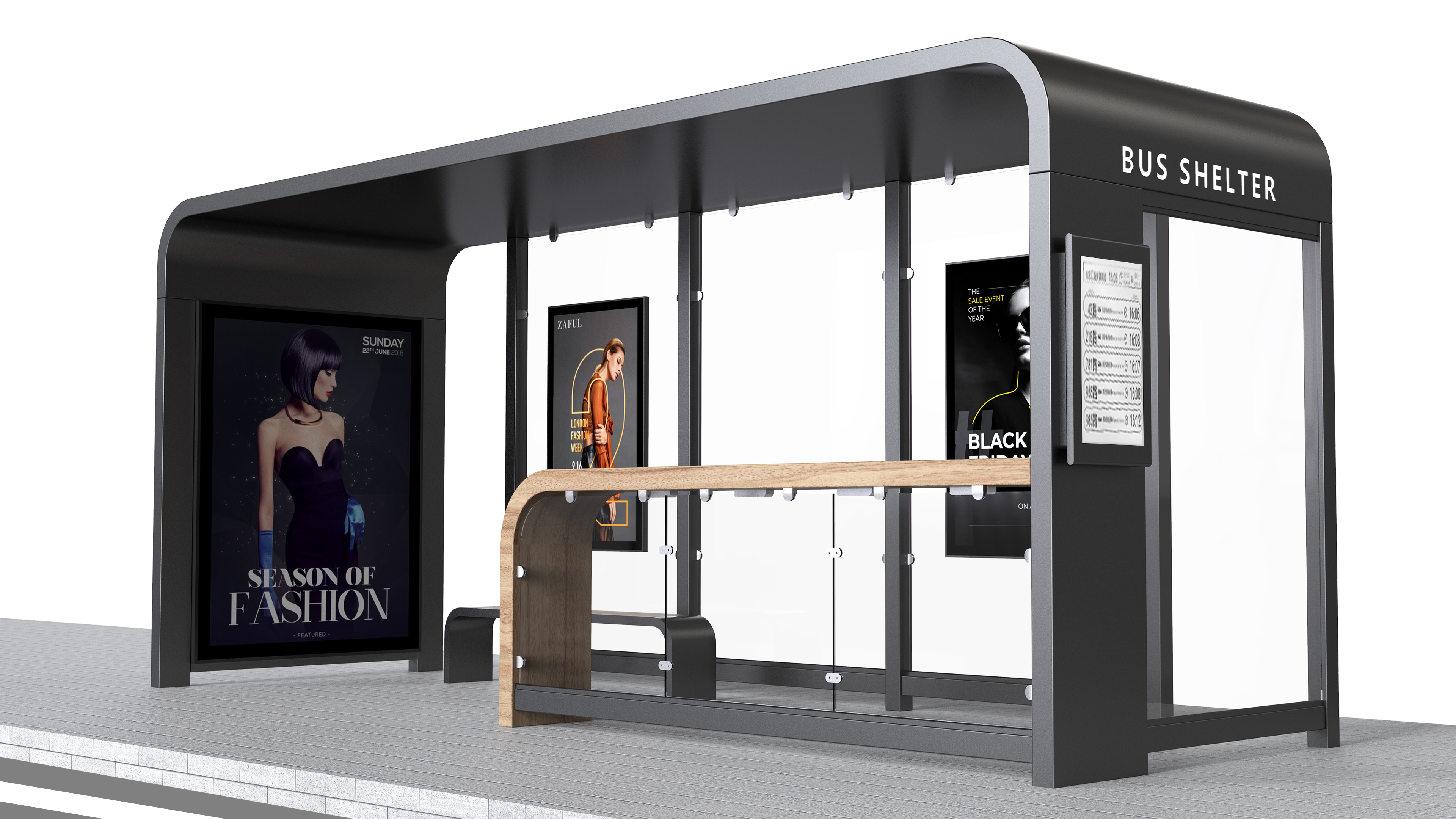 bus shelter for sale